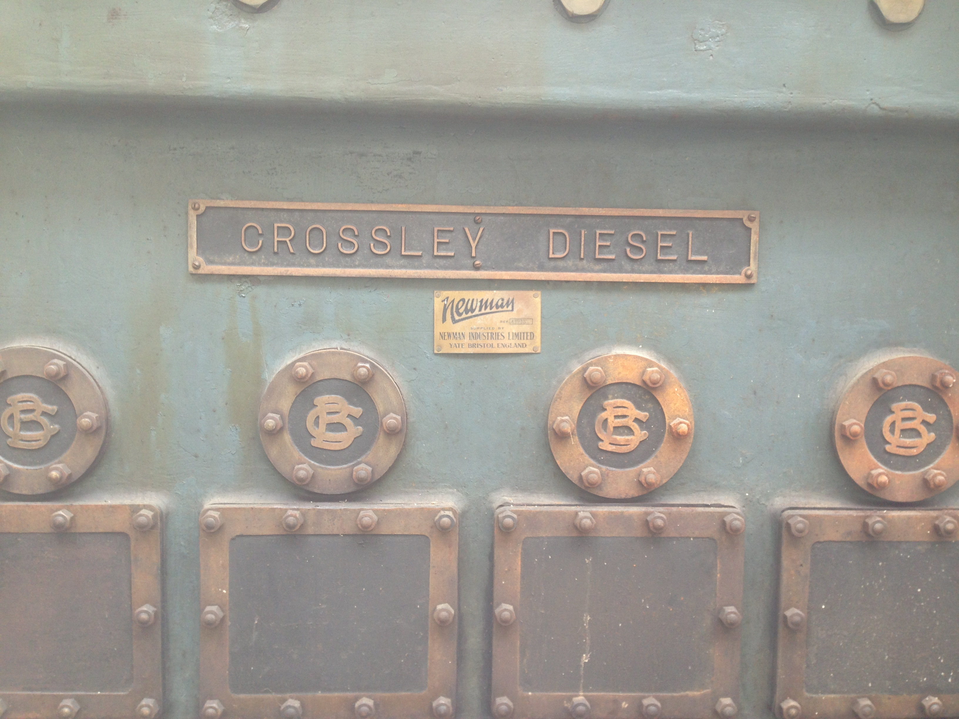 Crossley Diesel Engine