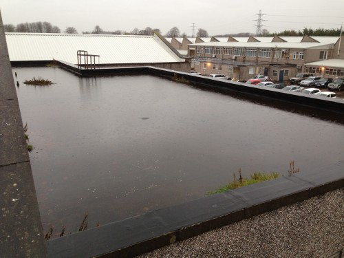 Flat Roofs Not Designed To Correct Falls Annandale